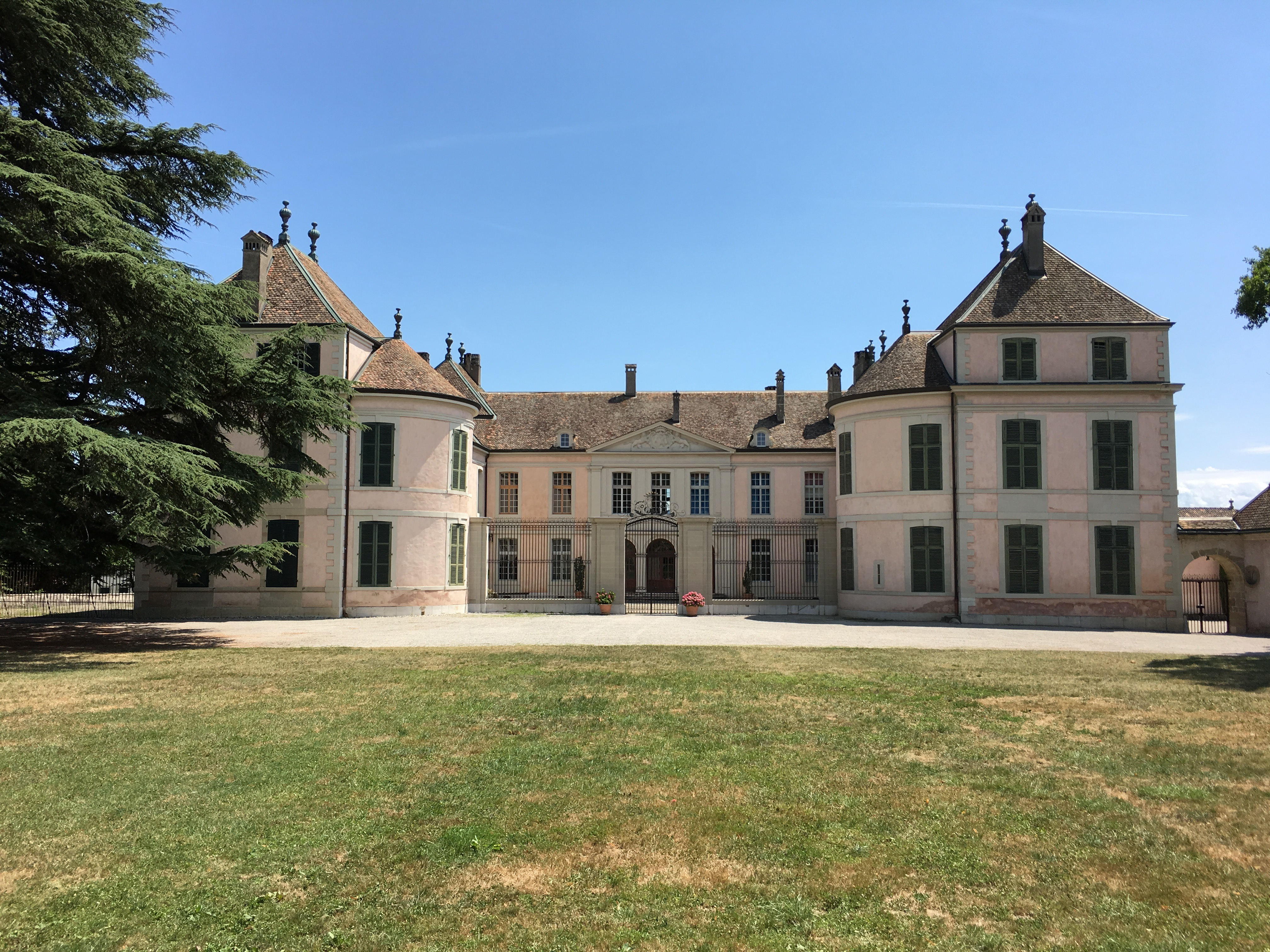 Chateau de Coppet - Source Fondation O. D'Haussonville